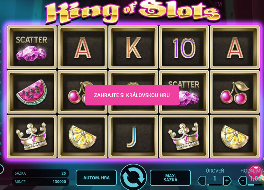 Hrací-Automat-King-of-Slots-bohemia-casino