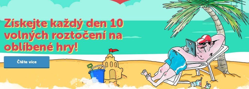 Bohemia Casino 10 volných zatočení celé léto