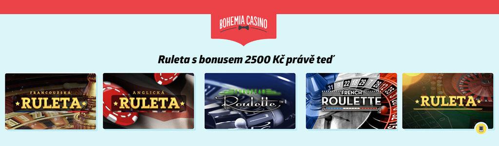 Ruelta průvodce bohemia casino